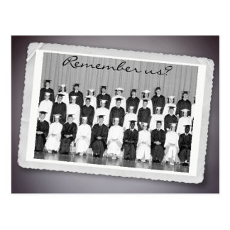 Save the Date for a Class Reunion to Remember Postcard