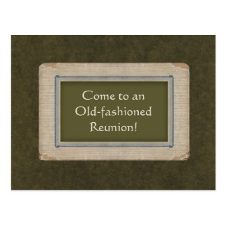 Save the Date for an Old-fashioned Reunion Postcards
