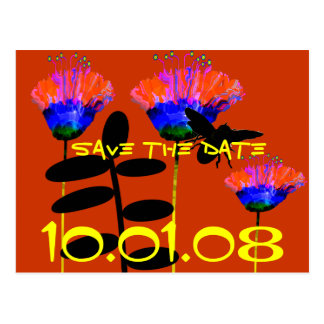 Save The Date -for any event- HoeDown, Dance Post Card
