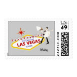 Save the Date for Las Vegas Wedding Postage