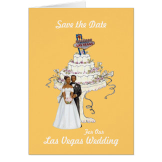 Save the Date for Our Las Vegas Wedding Card