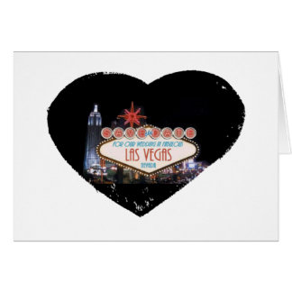 Save the Date For Our Wedding In Fabulous Las Vega Card