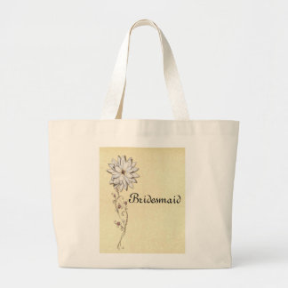 Save the Date for Special Occasion Large Tote Bag