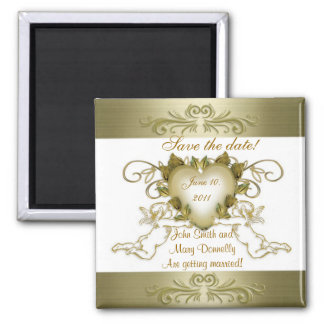 Save the date for wedding Magnet Angels