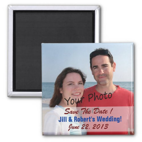 Save The Date For Wedding Or  Photo Magnets
