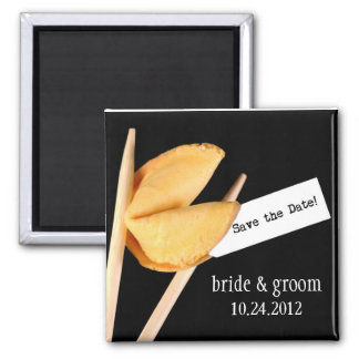 Save the Date Fortune Cookie Magnet