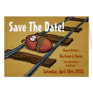 Save the Date Funny Announcement