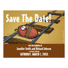 Save The Date Funny Wedding Date Invitation at Zazzle