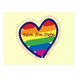 Save the Date/Gay Pride Postcards