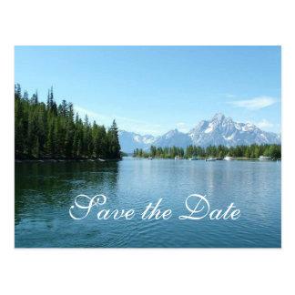Save the Date, Grand Teton National Park Postcard