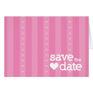 save the date greeting card