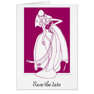 Save the date greeting cards