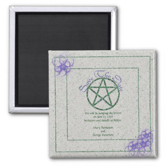 Save the Date Handfasting Magnet