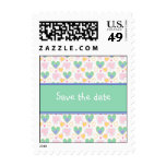 Save the date - Heart Design Postage