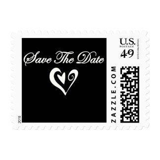 Save The Date Heart Stamp