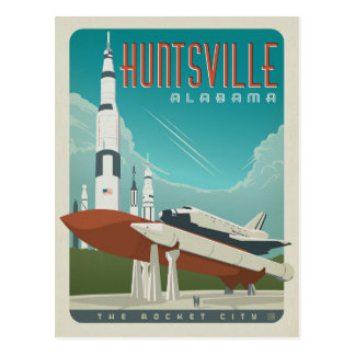 Save the Date | Huntsville, AL Postcard