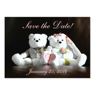 Save the Date - I Do Bears Card