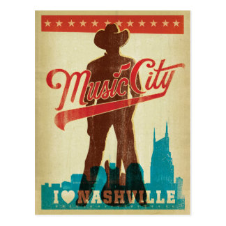 Save the Date   I Love Nashville Postcard