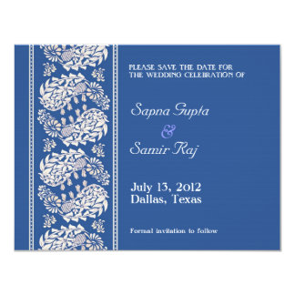 Save The Date Indian/Jewish Announcement