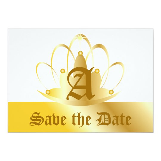 Save The Date Invitation-Customize Card