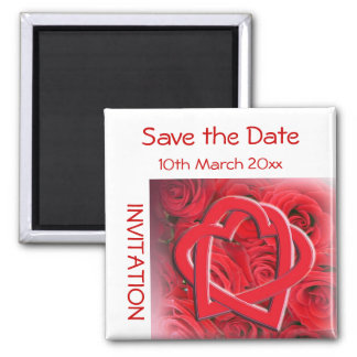 Save the Date Invitation Magnet