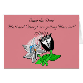 Save+the+Date+Invitations+Customizable Greeting Card