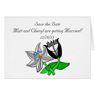 Save the Date Invitations Customize Greeting Card