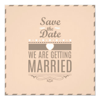 Save the Date Invitations - Customize It!