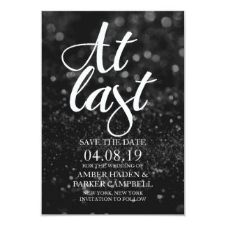 Save the Date Invite | At Last Fab