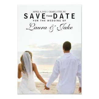 Save the Date Invite | Photo Save