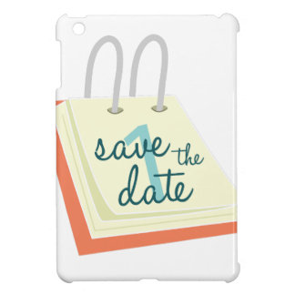 Save The Date iPad Mini Cover