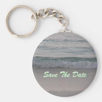 Save The Date keychain