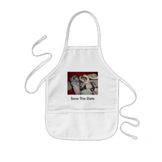 Save the Date Kids' Apron