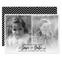 Save the Date, Kids Getting Married, Photo Invitation