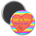 Save the date kokoro refrigerator magnet