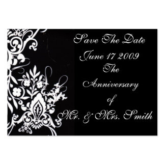 Save The Date Large Business Cards (Pack Of 100)