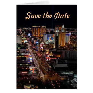 Save the Date Las Vegas Cards