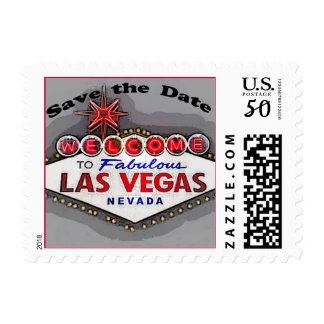 Save the Date Las Vegas Postage