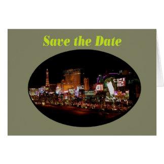 Save the Date Las Vegas Strip  Cards
