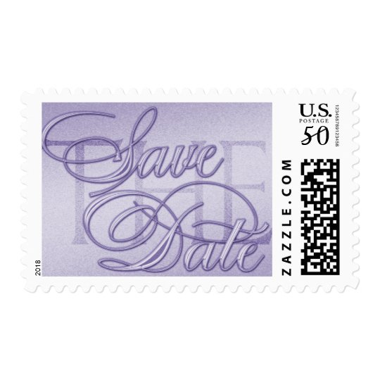 Save the Date Logo Postage