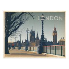 Save the Date   London Postcard