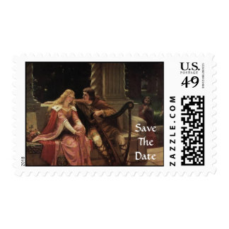 Save The Date Love Harp Stamp
