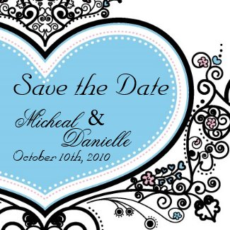Save the Date Magnet magnet
