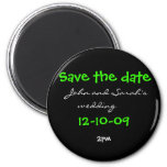 Save the date magnet        , ...