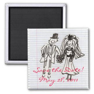 Save the Date! Fridge Magnet