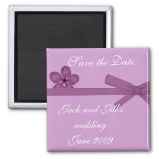 Save the date refrigerator magnets