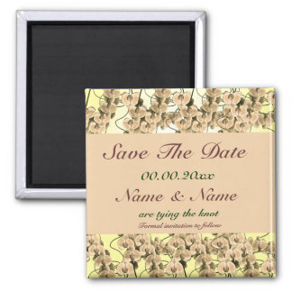 Save the date magnet invitations - customizable