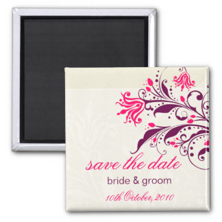 SAVE THE DATE MAGNET :: lily