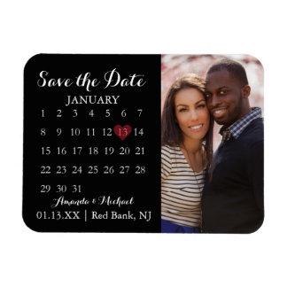 Save the Date Magnet - Photo Calendar