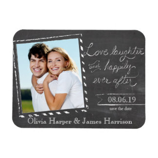 Save the Date Magnet | Snapshot Chalkboard